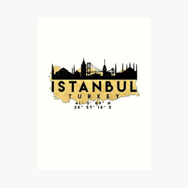 Istanbul Wall Art Redbubble