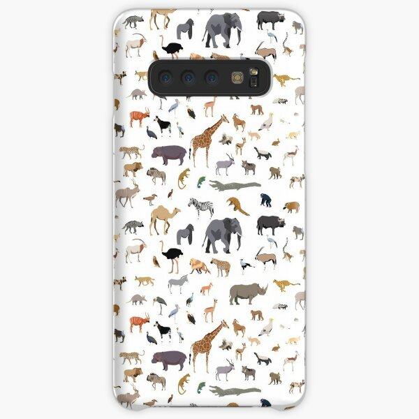 African animal pattern Samsung Galaxy Snap Case
