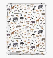 African animal pattern iPad Case/Skin