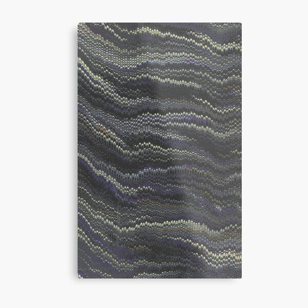Fluid Art Metal Print