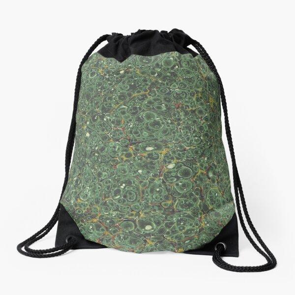 Fluid Art Drawstring Bag