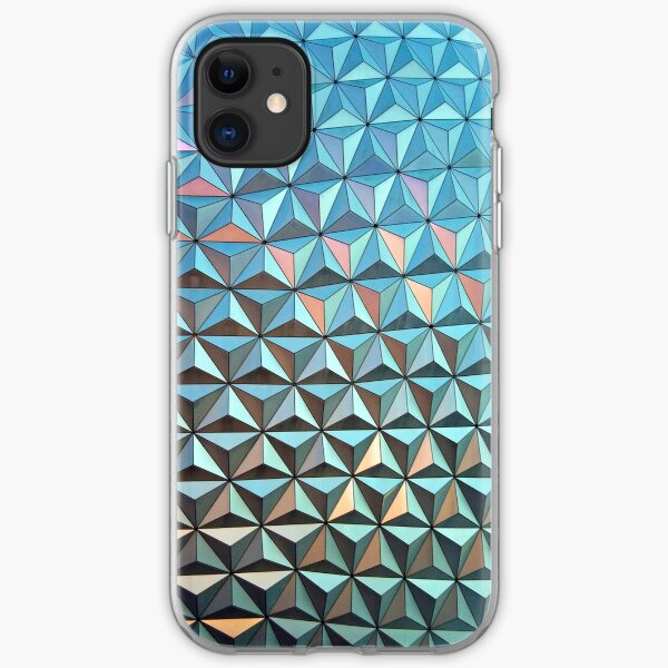 Spaceship Earth iPhone Soft Case
