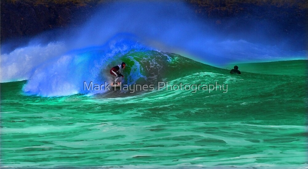 80's Surf Style - Tubed! by Mark Haynes Photography