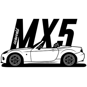 Mazda MX5 NC Side Best Shirt Design by CarWorld
