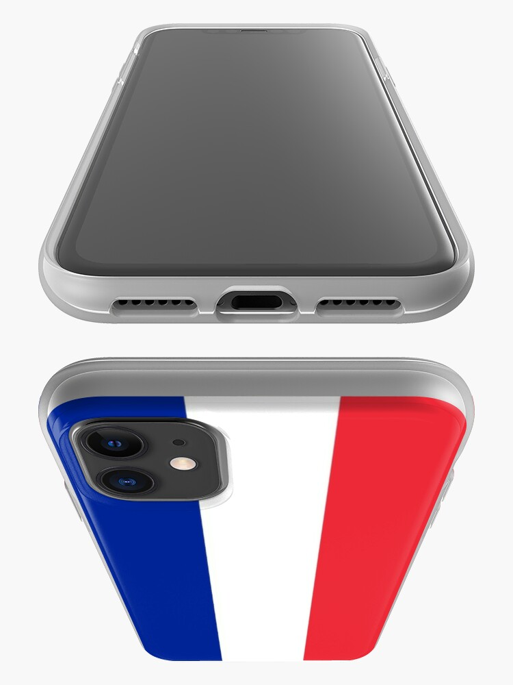 Alternate view of The Flag of France iPhone Case & Cover