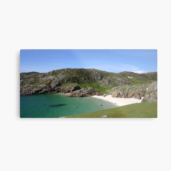 Glorious Achmelvich, Assynt Metal Print