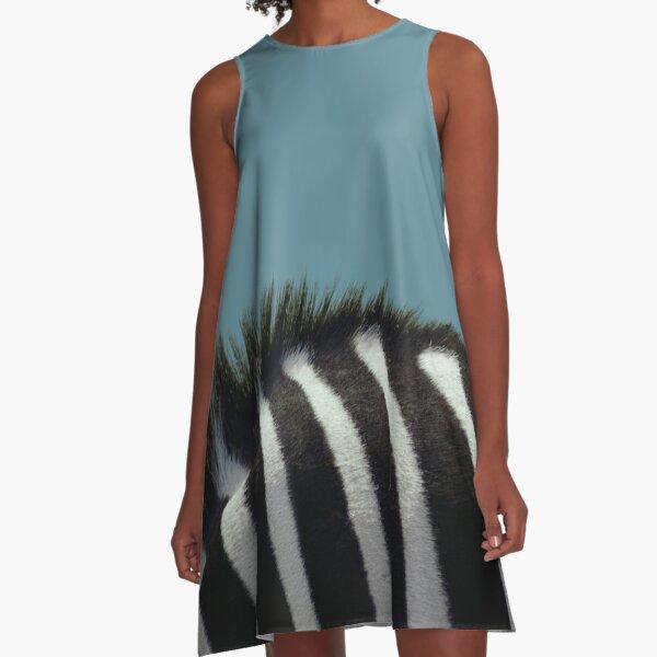Deborah the Zebra A-Line Dress