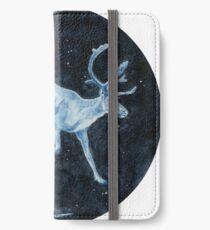 Magical, Glowing Reindeer iPhone Wallet/Case/Skin