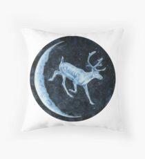 Magical, Glowing Reindeer Floor Pillow