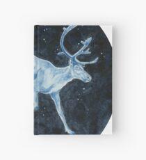 Magical, Glowing Reindeer Hardcover Journal