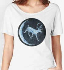 Magical, Glowing Reindeer Relaxed Fit T-Shirt