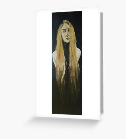 shadows of jessica Greeting Card