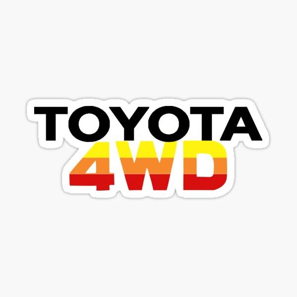 Toyota Offroad 4WD Sticker Sticker