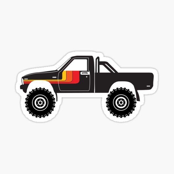 1st Gen Offroad 4x4 Pickup Sticker