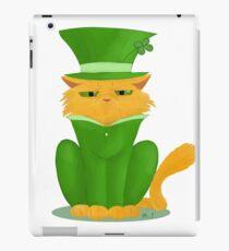 Glückliche Katze iPad-Hülle & Klebefolie