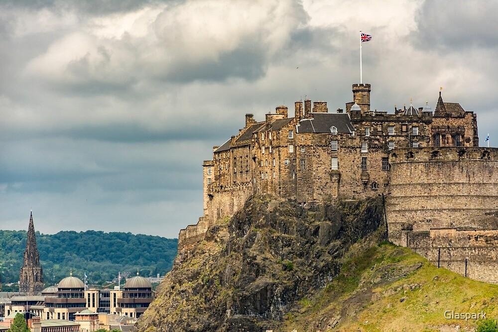 Edinburgh Castle by Glaspark