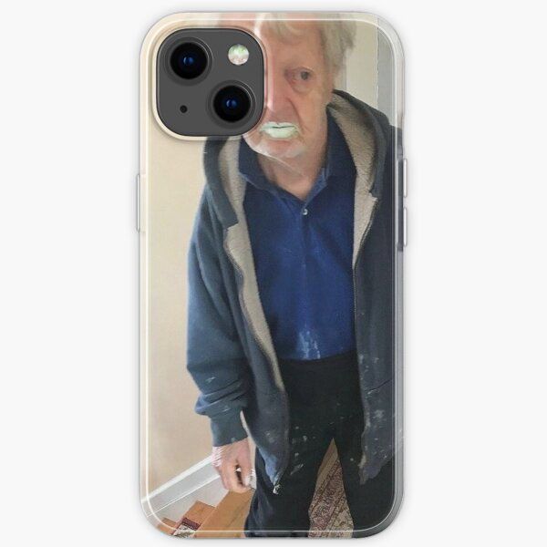 90 Year old Man eats 1/2 litre of green paint thinking it's mint yoghurt iPhone Soft Case