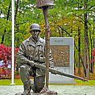 World War II Veterans Memorial Park Monument by Paul Gitto