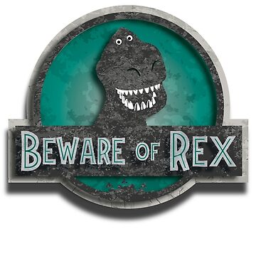 Beware of rex Green Version by spiderkilla