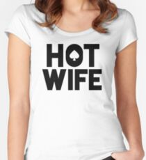 Hotwife QOS Fitted Scoop T-Shirt