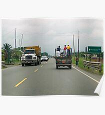 Road to Guayaquil, Ecuador Poster
