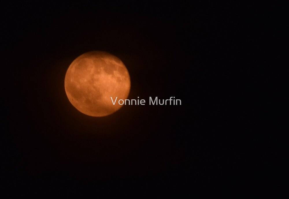Orange Moon  by Vonnie Murfin