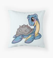 Pokemon - Lapras Throw Pillow