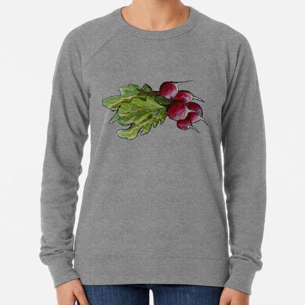 radish aquarelle Lightweight Sweatshirt
