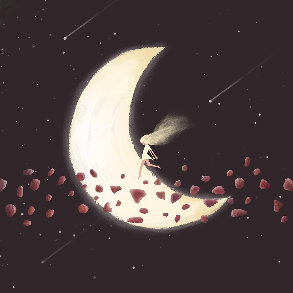 Lunar Child by annisatiarau