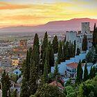 Granada Sunset by TonyCrehan