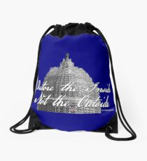 U.S. Capitol: Restore the Inside, Not the Outside Drawstring Bag