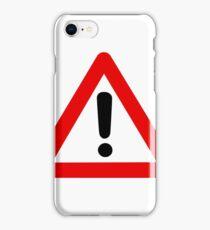 Modern Caution - High Fidelity iPhone Case/Skin