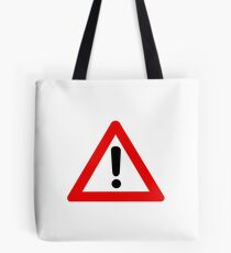 Modern Caution - High Fidelity Tote Bag