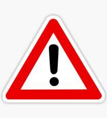 Modern Caution - High Fidelity Sticker