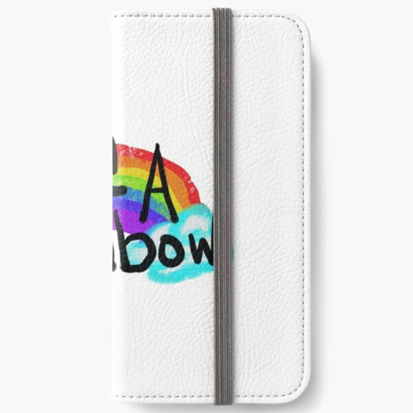 Be A Rainbow iPhone Wallet