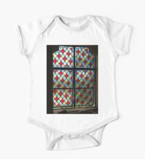Stained Glass, Window, Caribean, Church One Piece - Short Sleeve