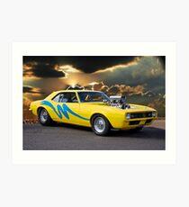 1967 Chevrolet 'Show n Go' Camaro Art Print