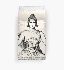 Columbia Embraces Donald Trump Duvet Cover