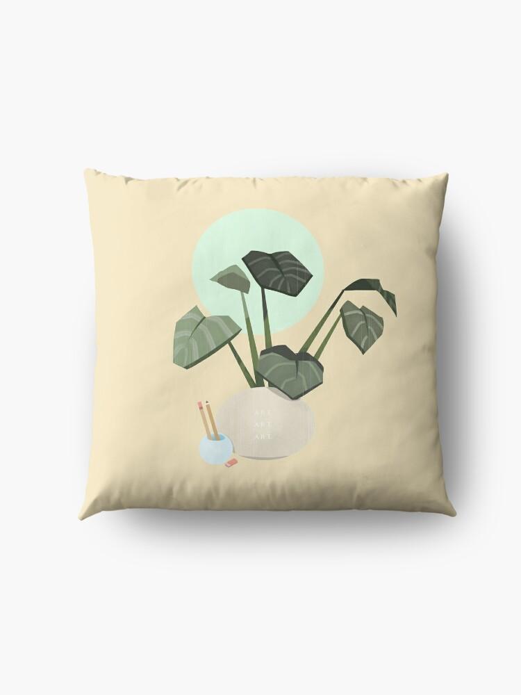 Alternate view of Plants plants plants Floor Pillow