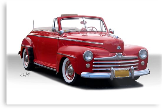 1947 Ford Deluxe Convertible Coupe by DaveKoontz