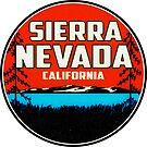 Sierra Nevada California Ski Snowboard Hiking Boating Sierras by MyHandmadeSigns