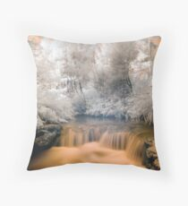Kero Creek IR 2 unaltered Throw Pillow