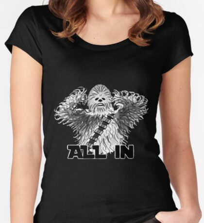 All In Fitted Scoop T-Shirt