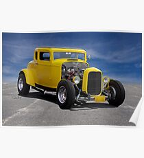 1932 Ford 'American Graffiti' Coupe Poster