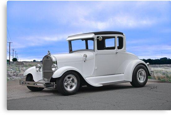 1929 Ford 'Casper' Coupe by DaveKoontz