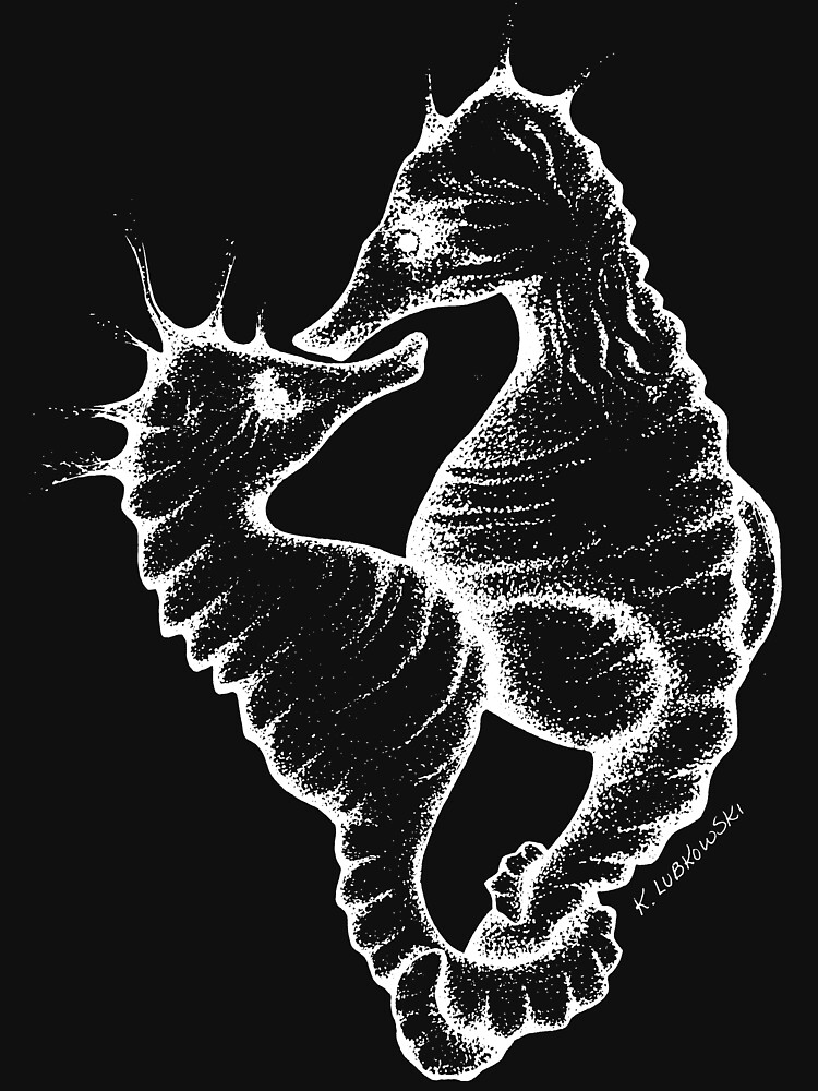 Seahorses (White) by intothevortex