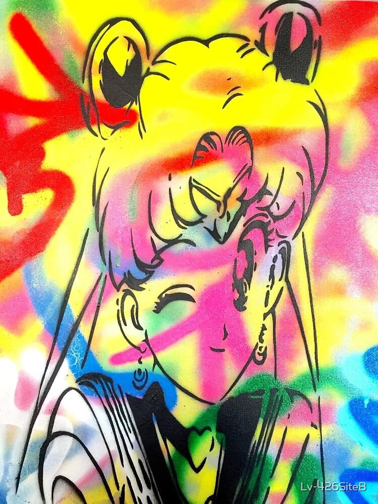 Graffiti Sailor Moon by Lv-426SiteB