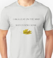 Leaf on the Wind (Light) Unisex T-Shirt