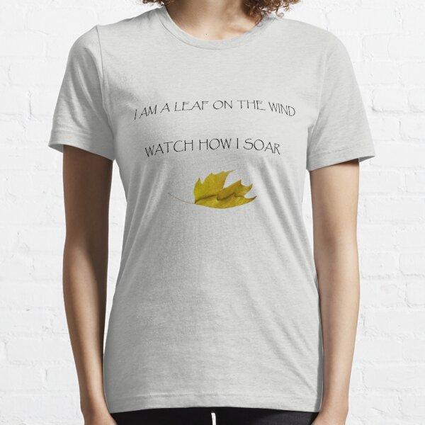 Leaf on the Wind (Light) Essential T-Shirt