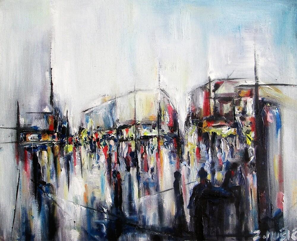 City square by ZlatkoMusicArt